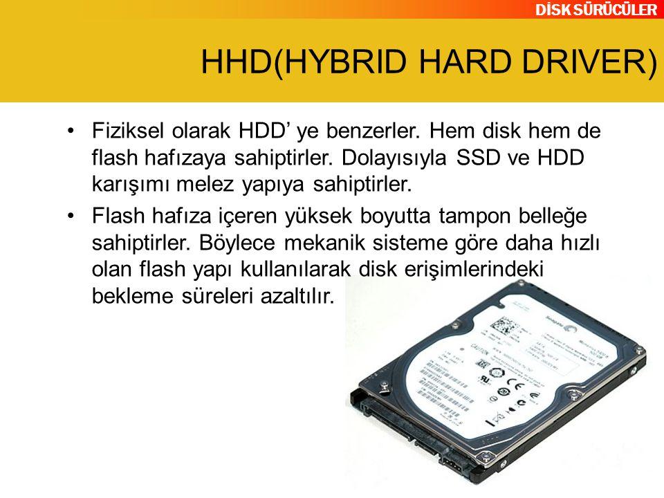 HHD(HYBRID HARD DRIVER)