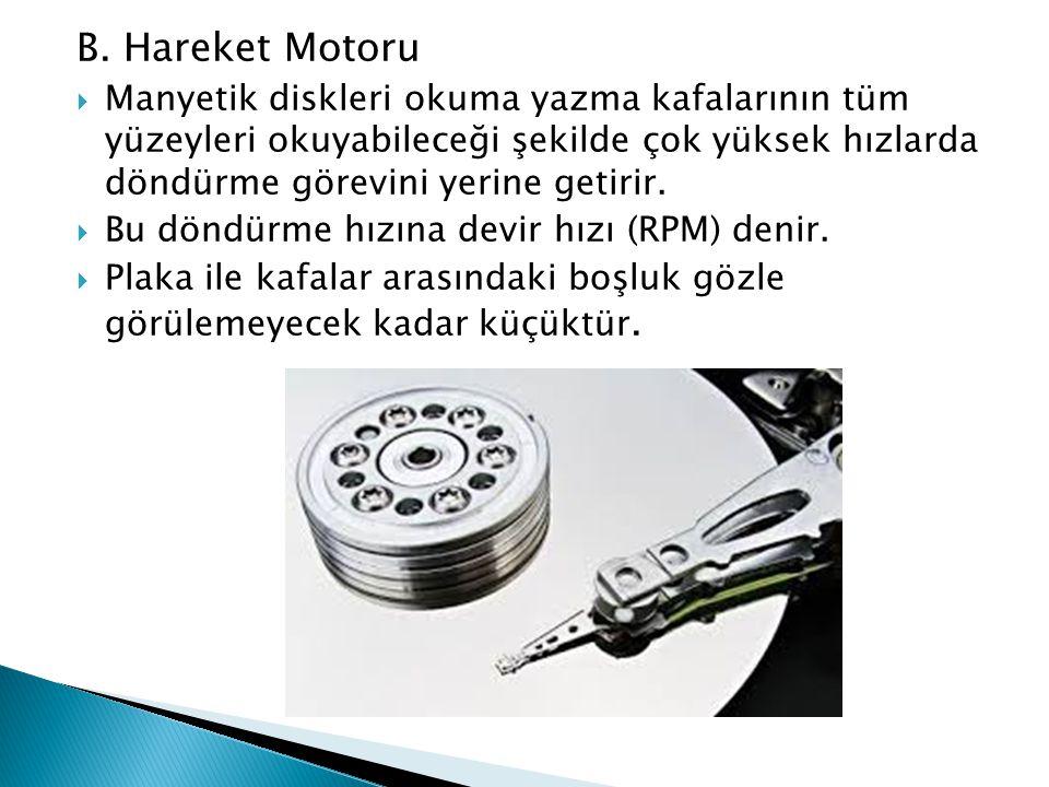B. Hareket Motoru