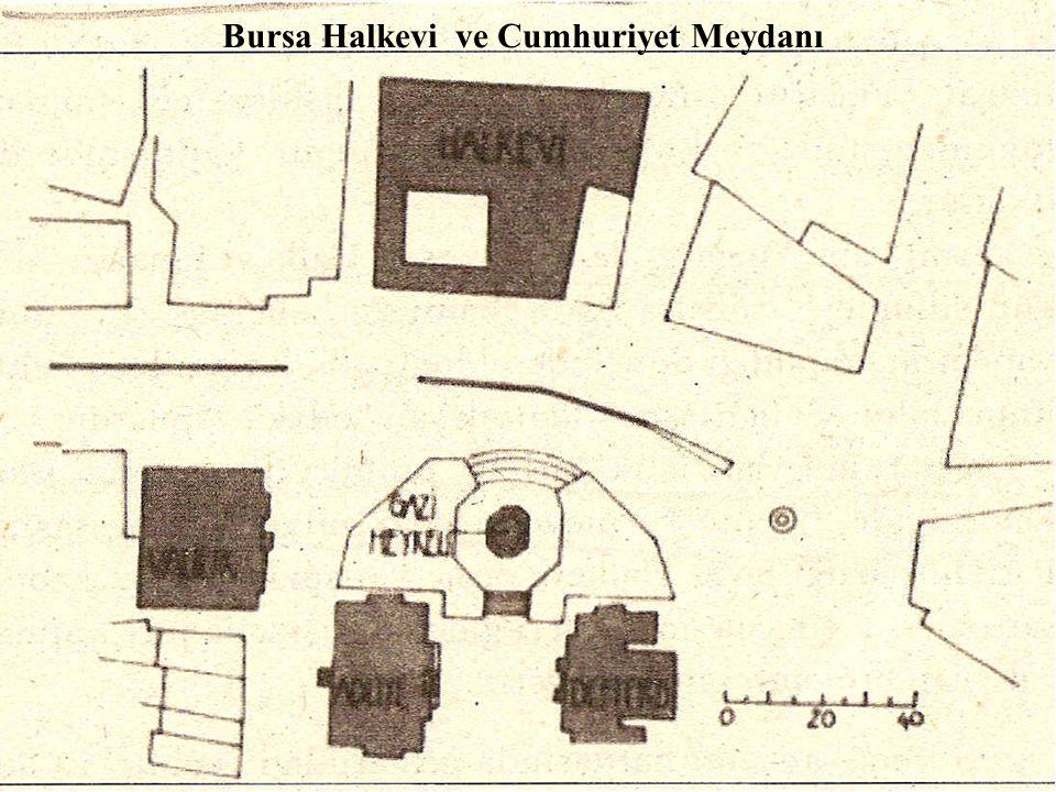 Bursa Halkevi ve Cumhuriyet Meydanı
