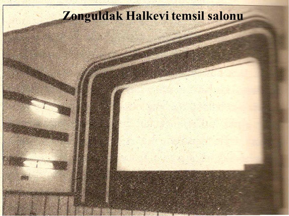 Zonguldak Halkevi temsil salonu