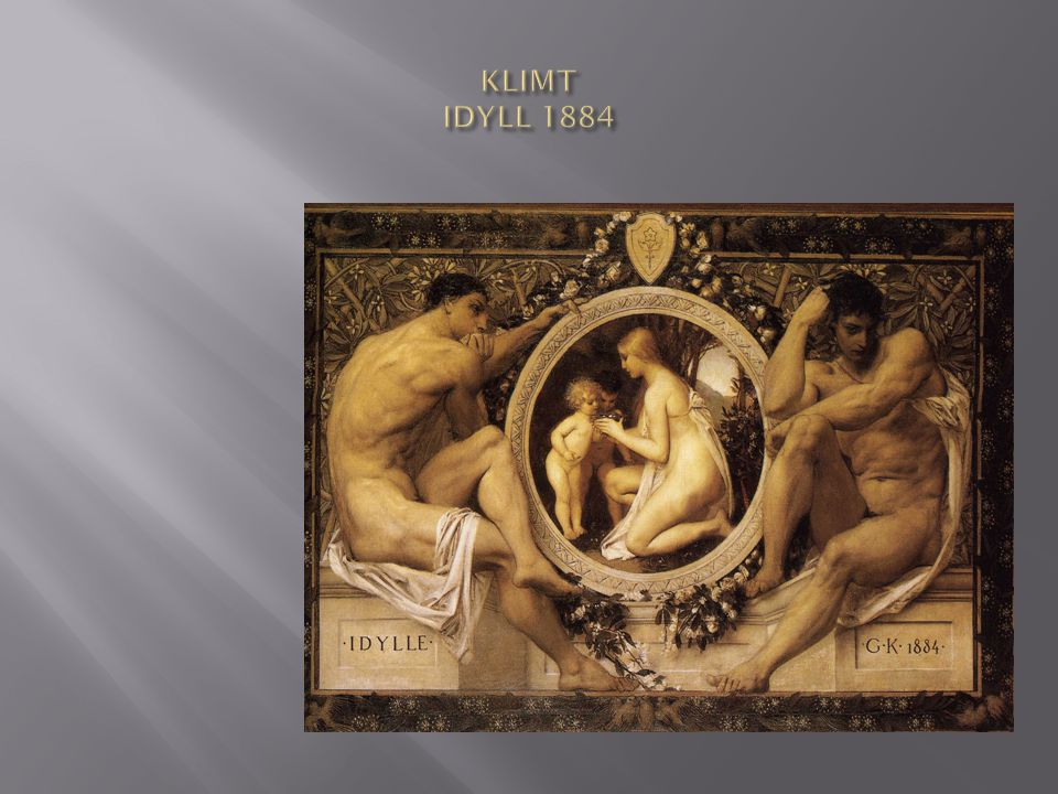 KLIMT IDYLL 1884