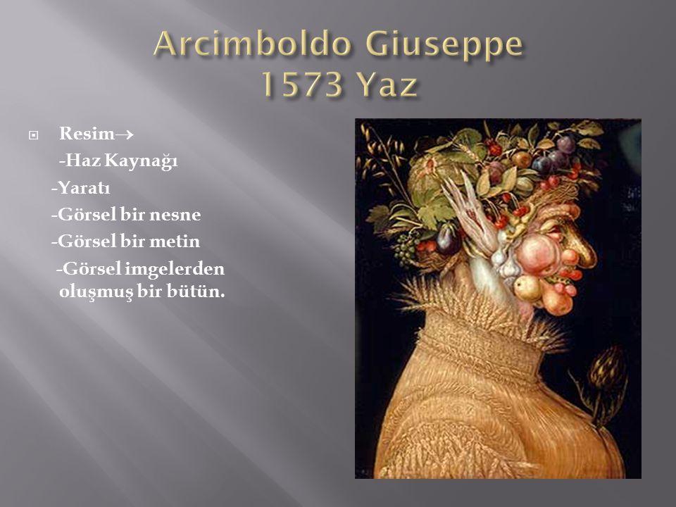 Arcimboldo Giuseppe 1573 Yaz
