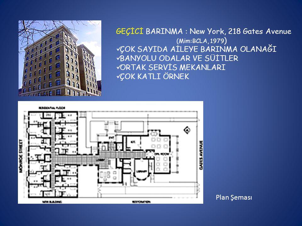 GEÇİCİ BARINMA : New York, 218 Gates Avenue