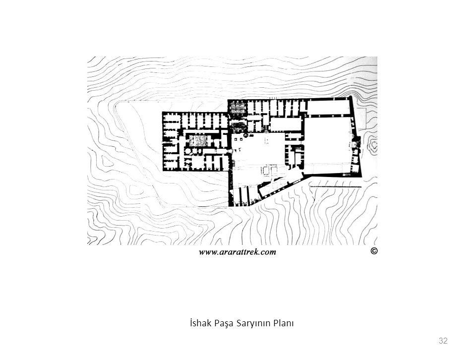 İshak Paşa Saryının Planı