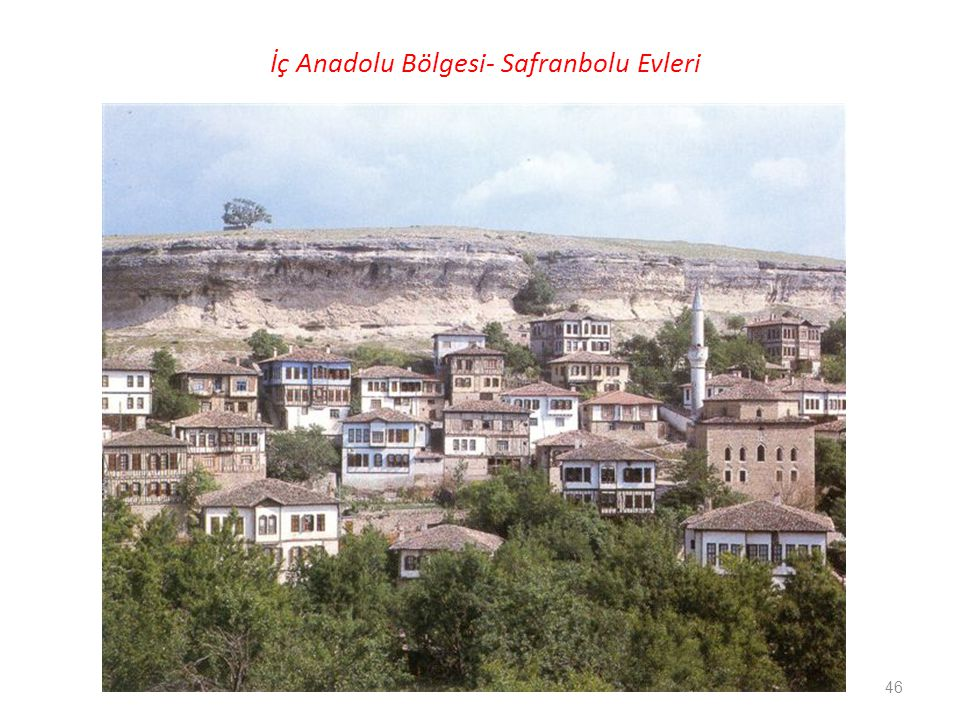 İç Anadolu Bölgesi- Safranbolu Evleri