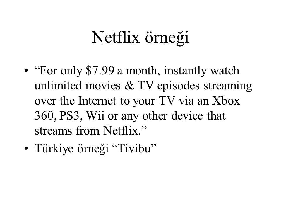 Netflix örneği