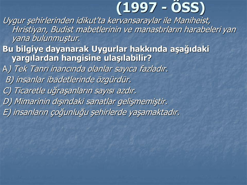 (1997 - ÖSS)
