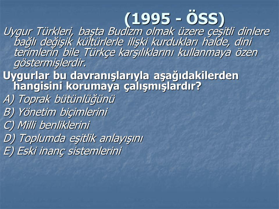 (1995 - ÖSS)