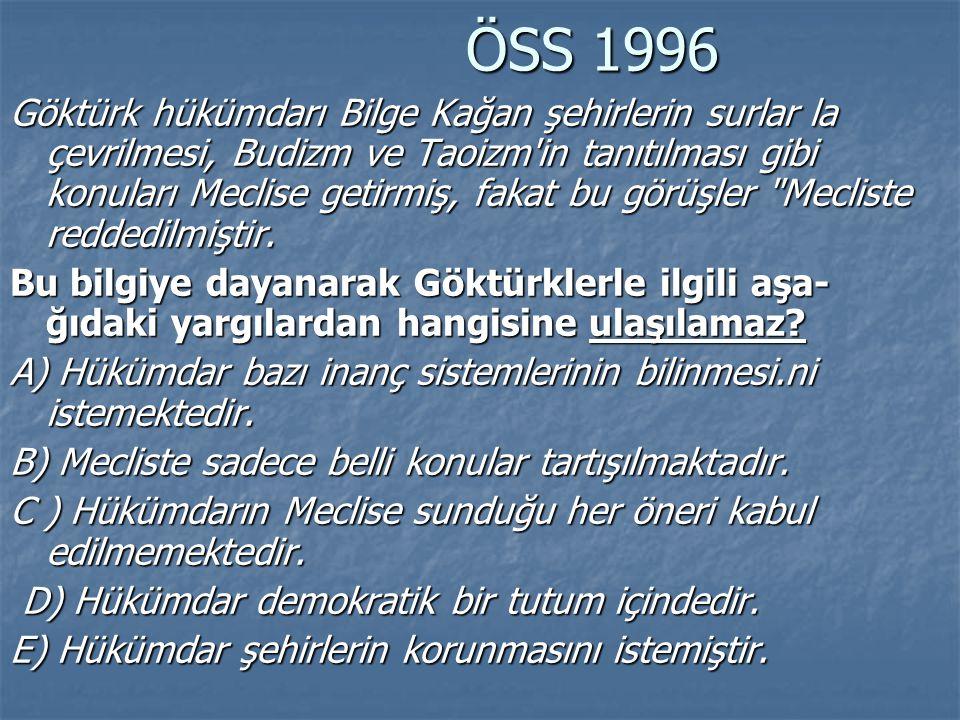 ÖSS 1996