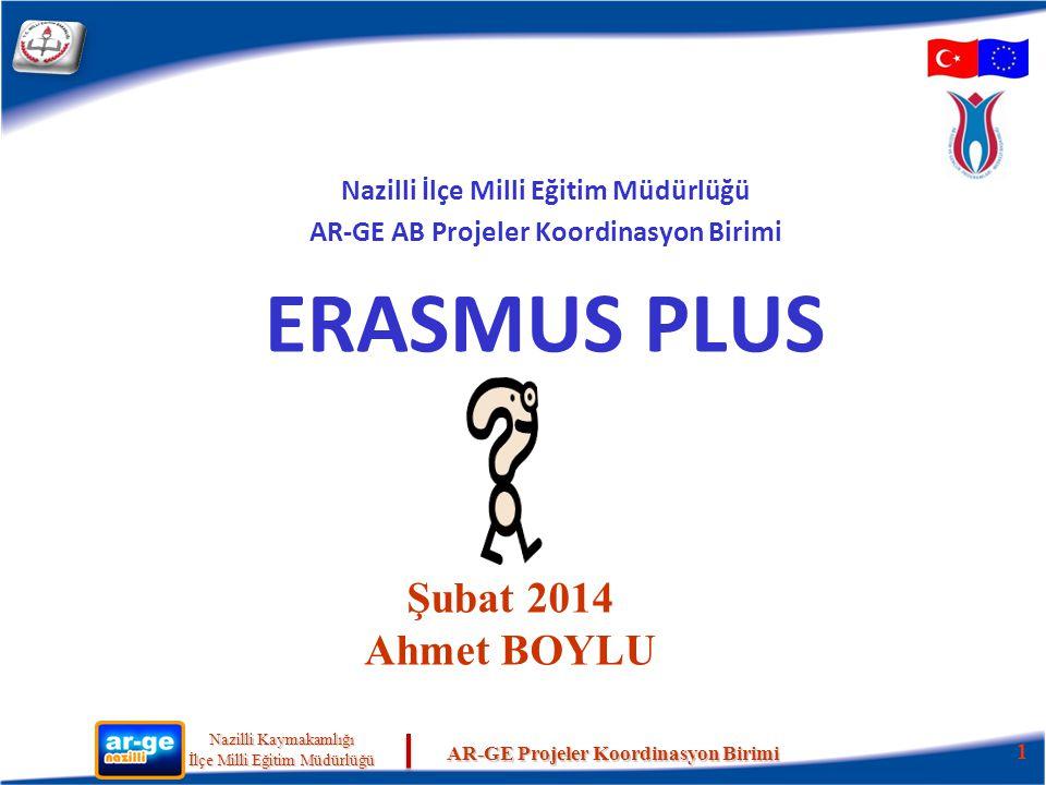 ERASMUS PLUS Şubat 2014 Ahmet BOYLU