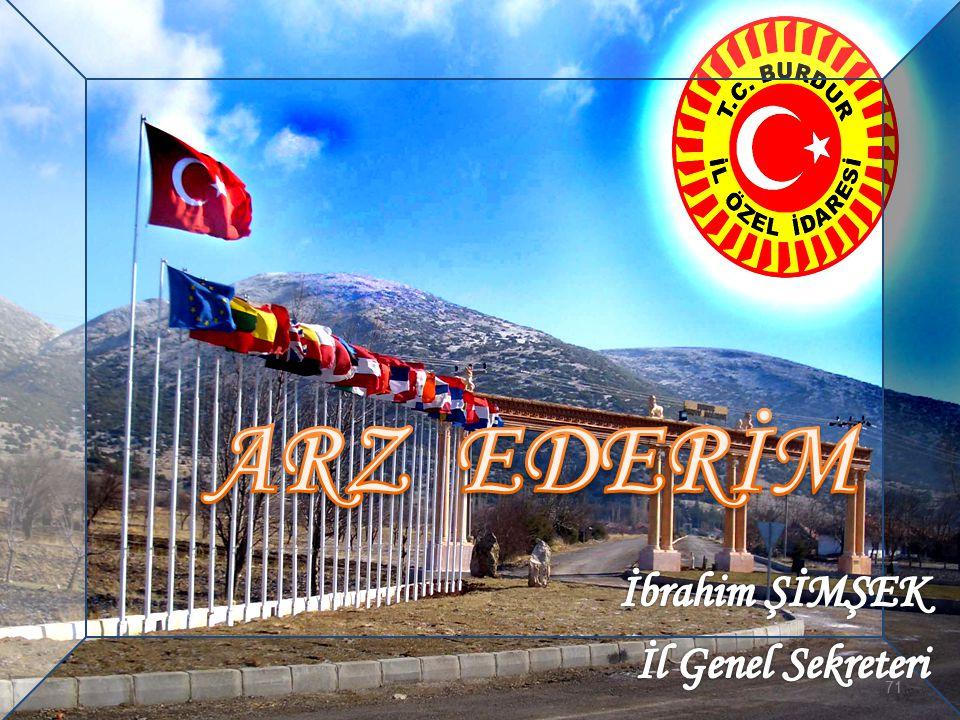ARZ EDERİM İbrahim ŞİMŞEK İl Genel Sekreteri 71 71