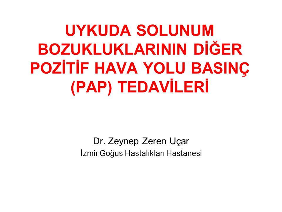 Dr. Zeynep Zeren Uçar İzmir Göğüs Hastalıkları Hastanesi