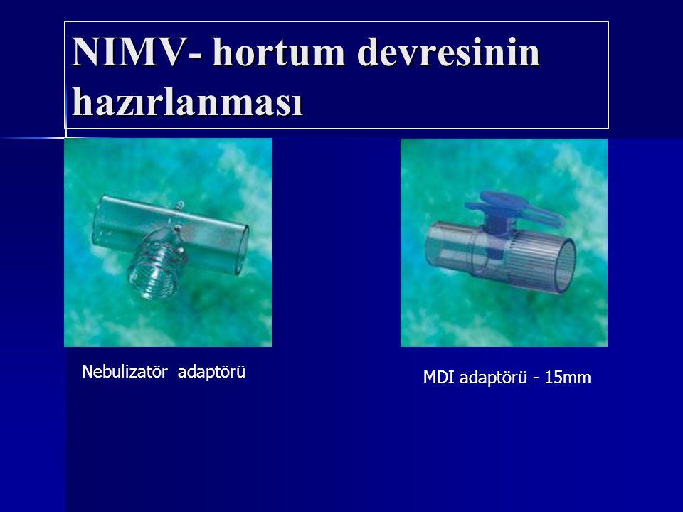 NIMV- hortum devresinin hazırlanması
