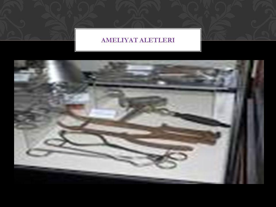 Ameliyat aletleri