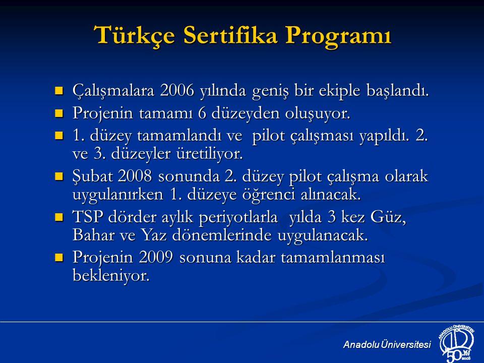 Türkçe Sertifika Programı