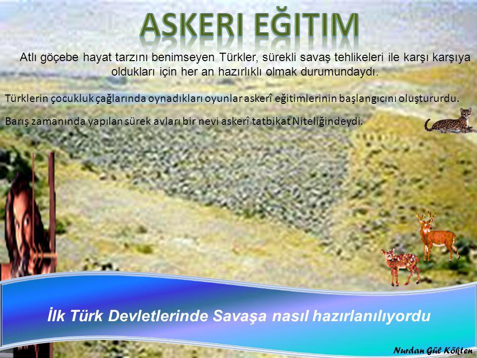 İlk Türk Devletlerinde Savaşa nasıl hazırlanılıyordu