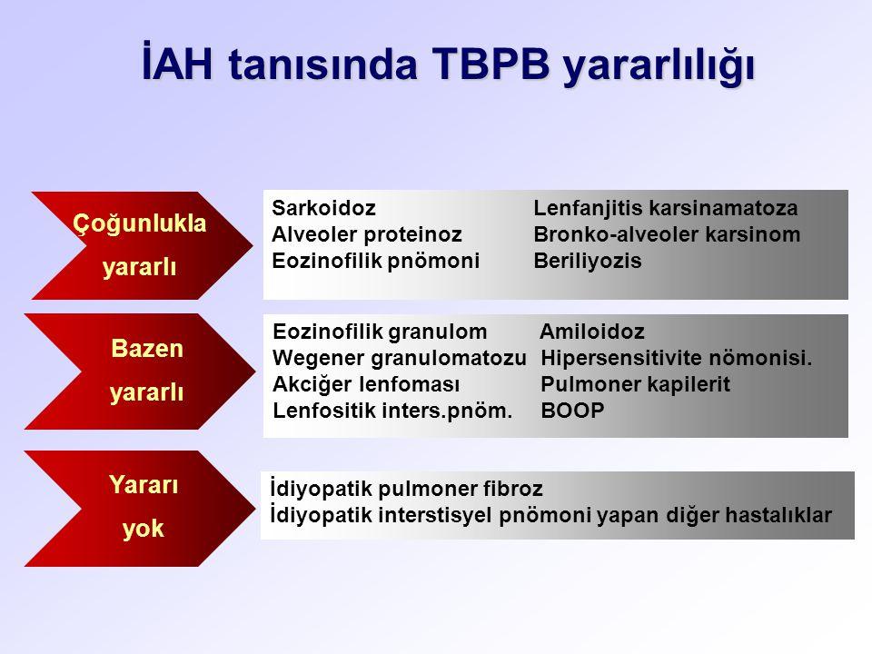 İAH tanısında TBPB yararlılığı