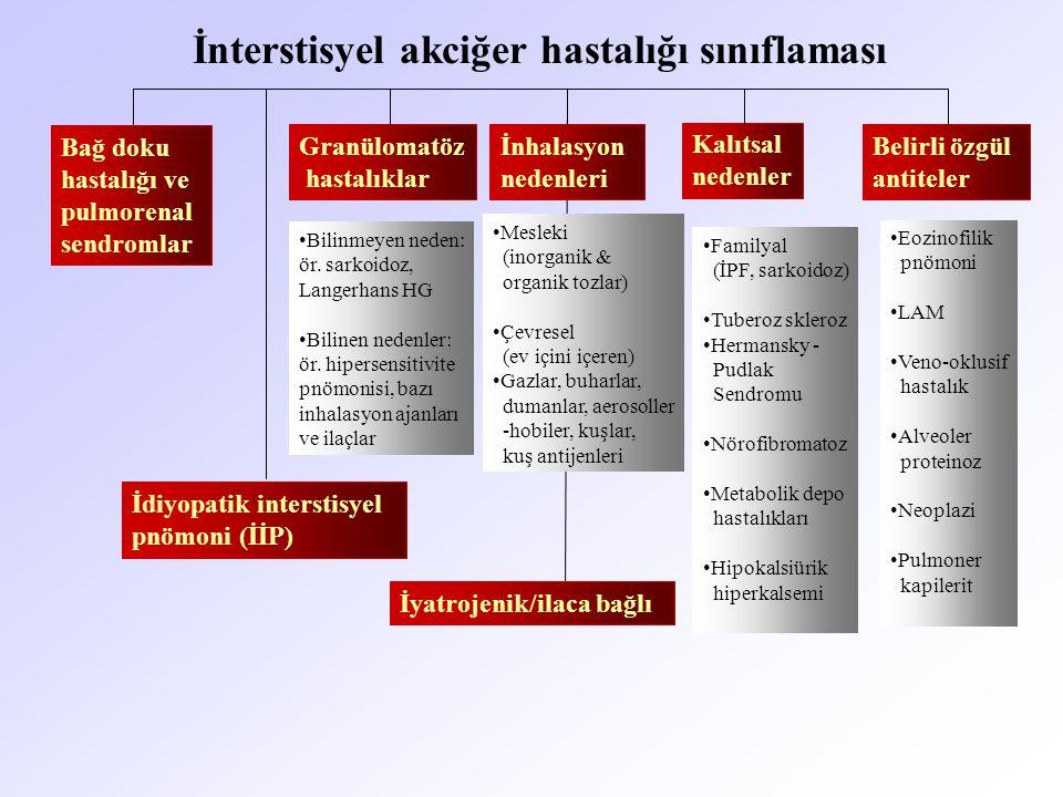 İnterstisyel akciğer hastalığı sınıflaması
