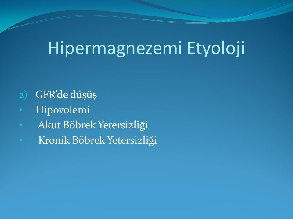 Hipermagnezemi Etyoloji