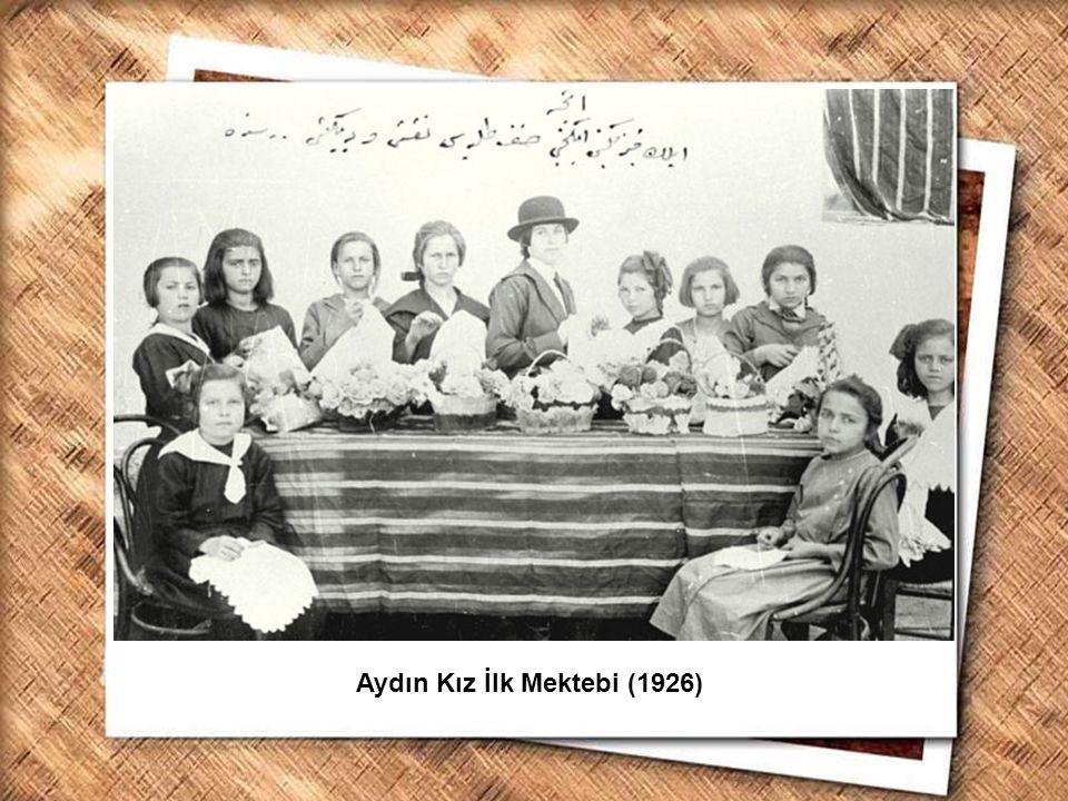Aydın Kız İlk Mektebi (1926)