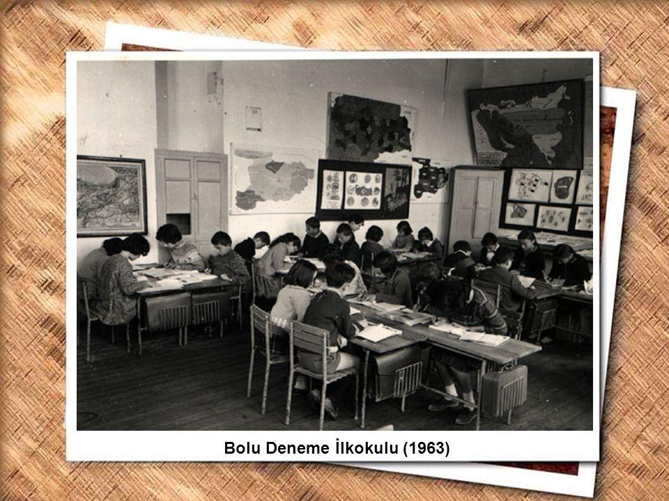 Bolu Deneme İlkokulu (1963)