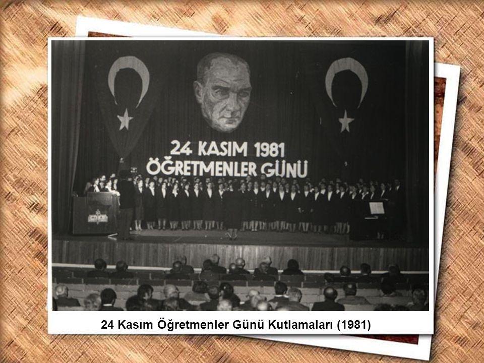 24 Kasım Öğretmenler Günü Kutlamaları (1981)