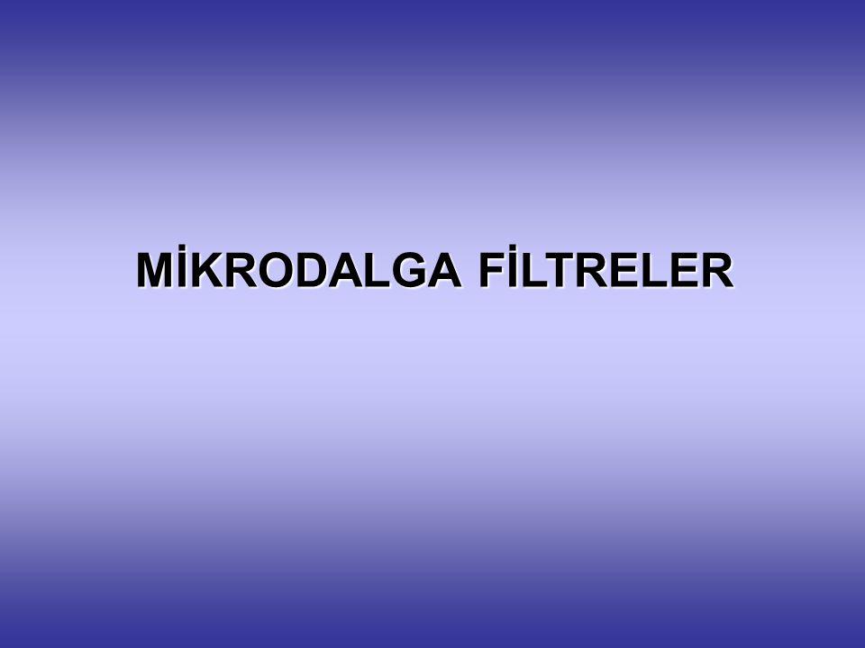 MİKRODALGA FİLTRELER