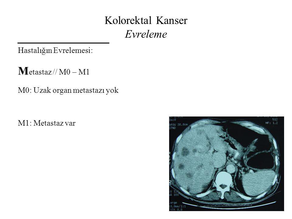 Kolorektal Kanser Evreleme