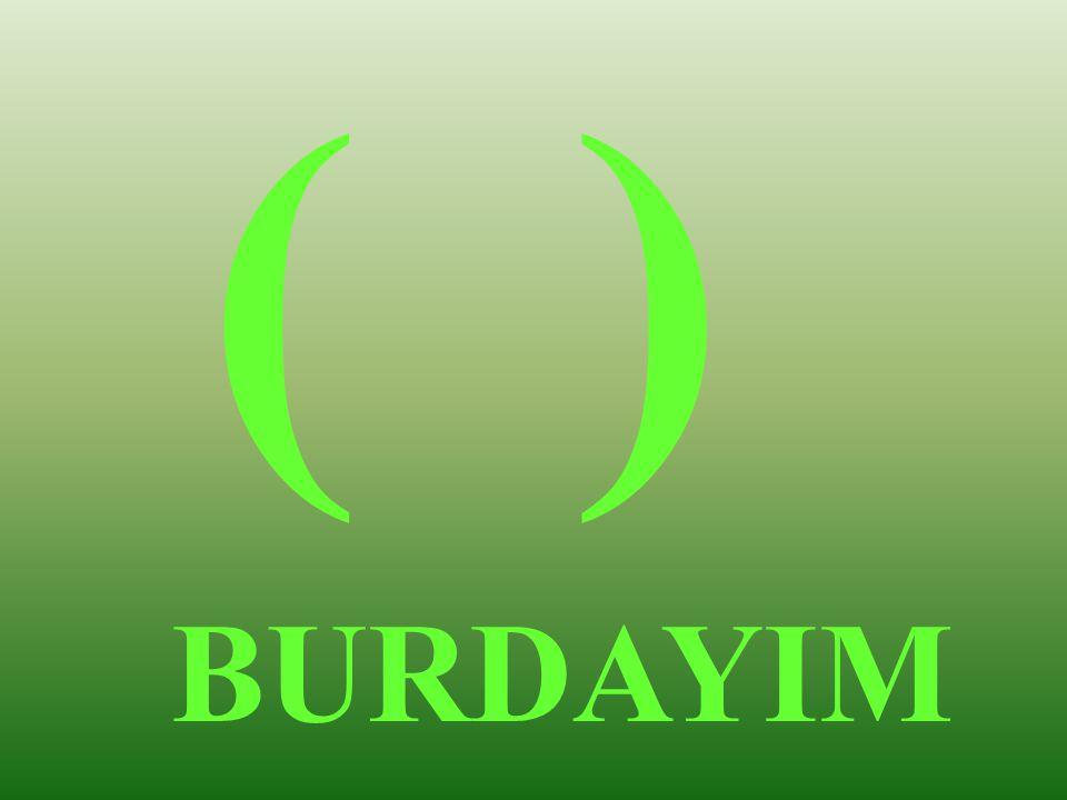 ( ) BURDAYIM