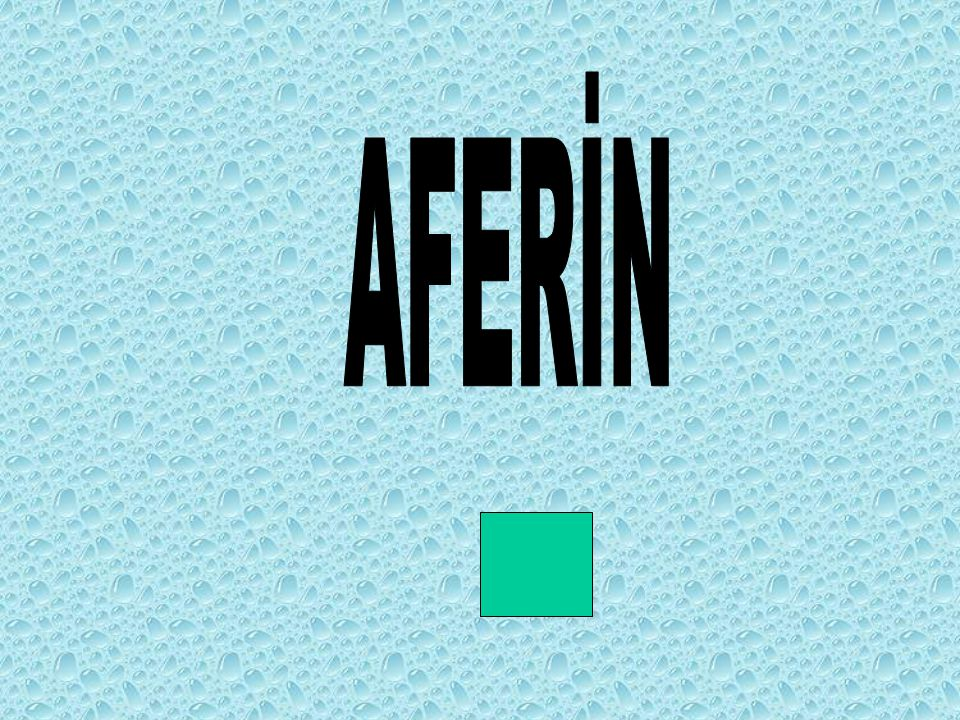 AFERİN