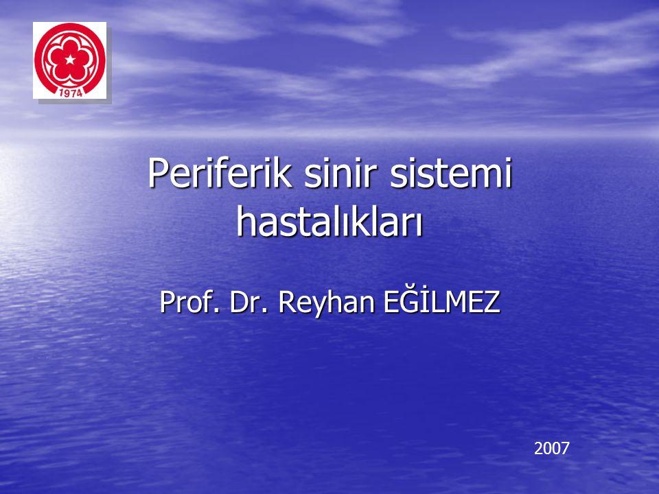 Periferik sinir sistemi hastalıkları