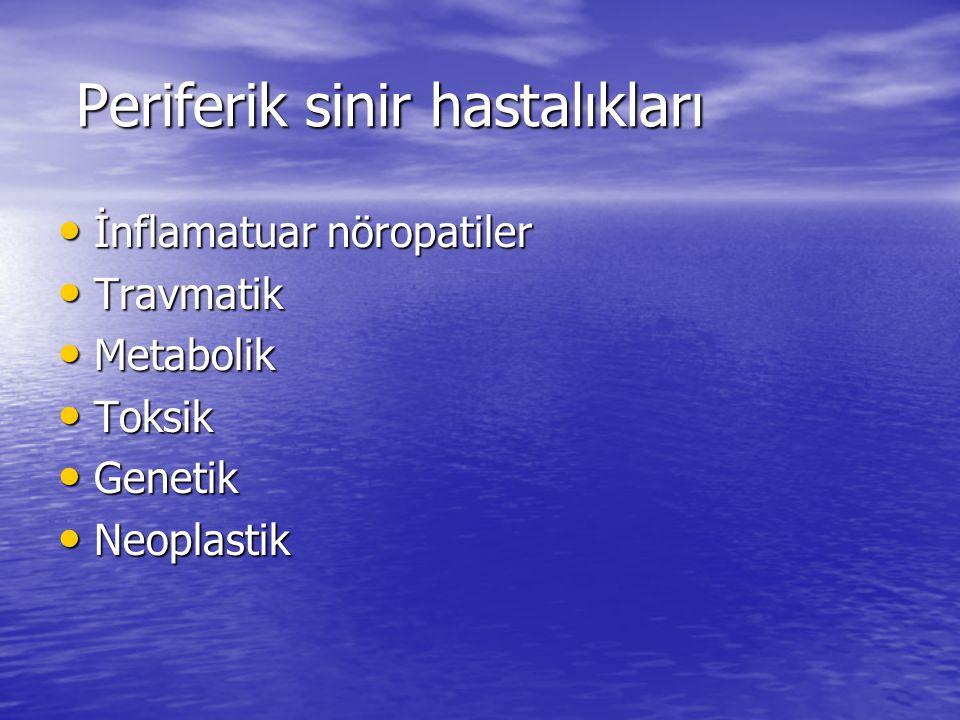 Periferik sinir hastalıkları