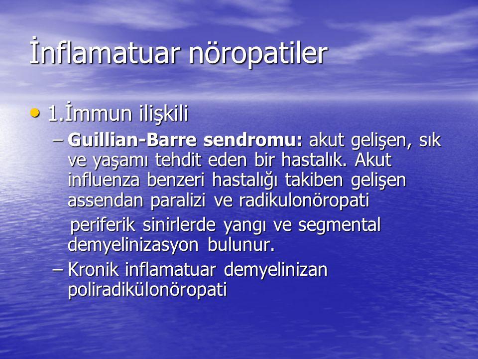 İnflamatuar nöropatiler