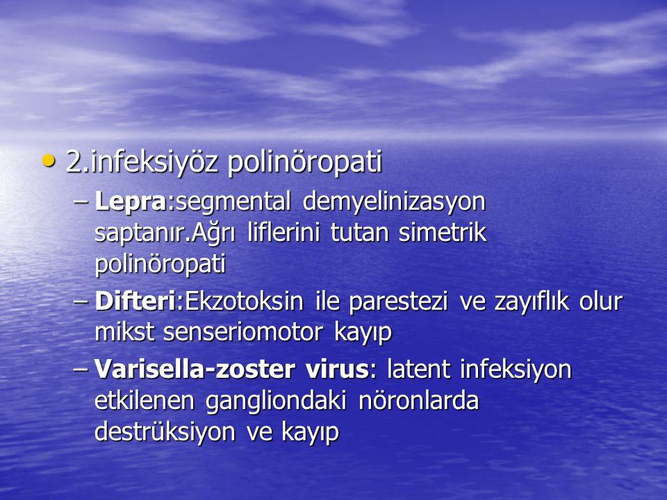 2.infeksiyöz polinöropati