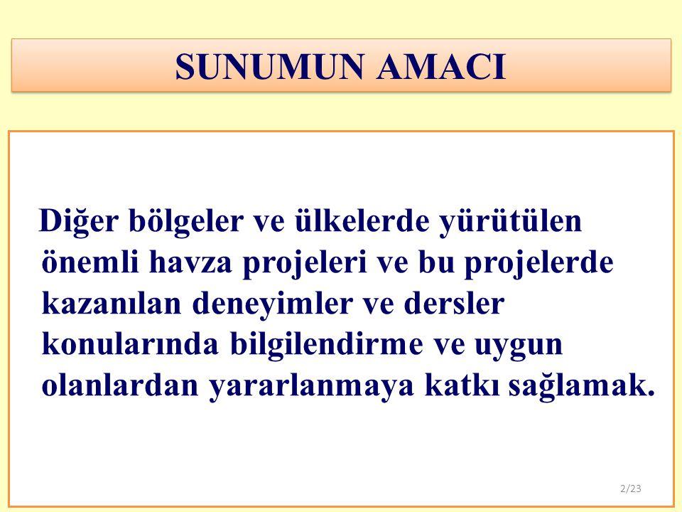 SUNUMUN AMACI