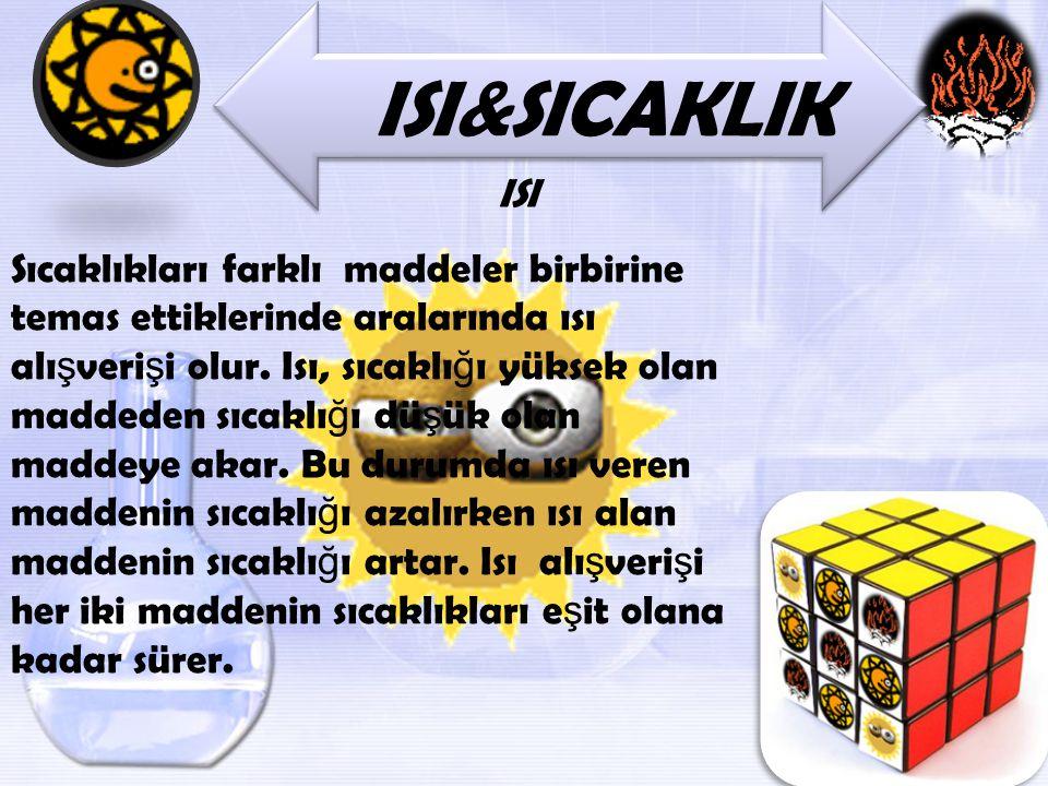 ISI&SICAKLIK ISI.