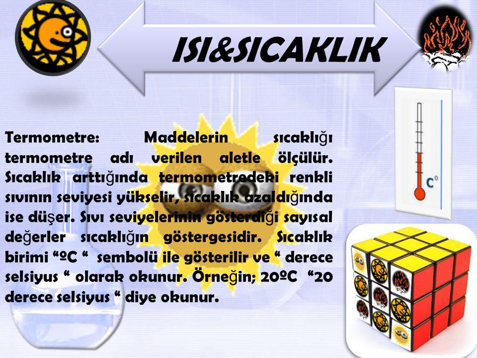 ISI&SICAKLIK