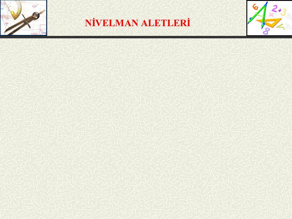 NİVELMAN ALETLERİ