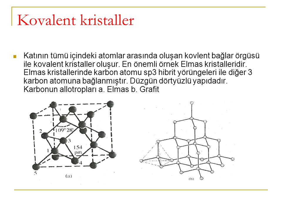 Kovalent kristaller