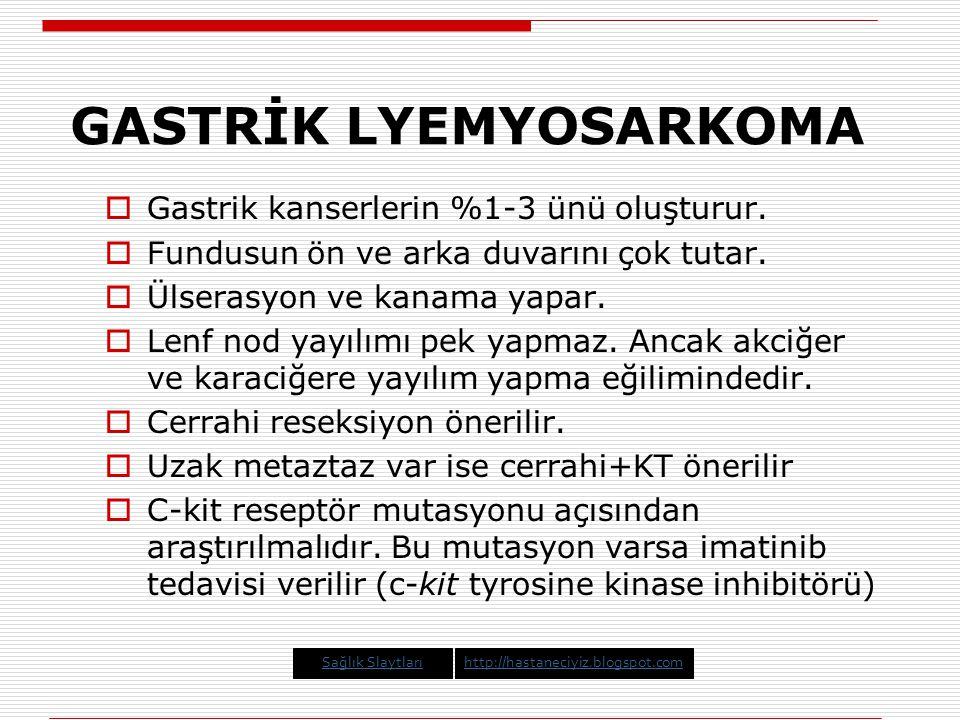 GASTRİK LYEMYOSARKOMA