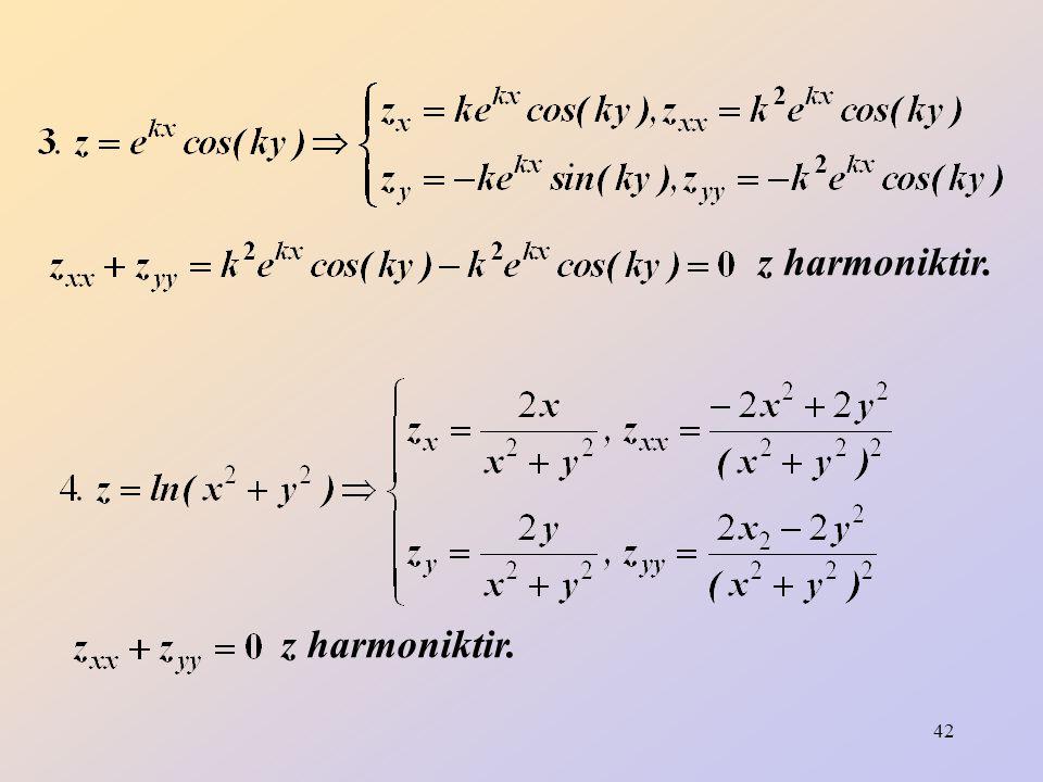 z harmoniktir. z harmoniktir.
