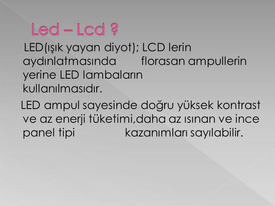 Led – Lcd