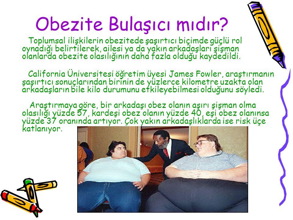 Obezite Bulaşıcı mıdır