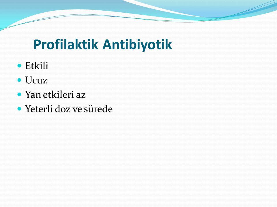 Profilaktik Antibiyotik