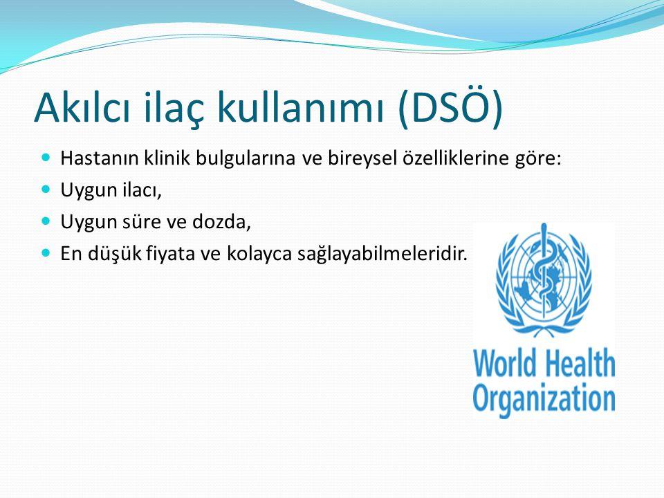 Akılcı ilaç kullanımı (DSÖ)