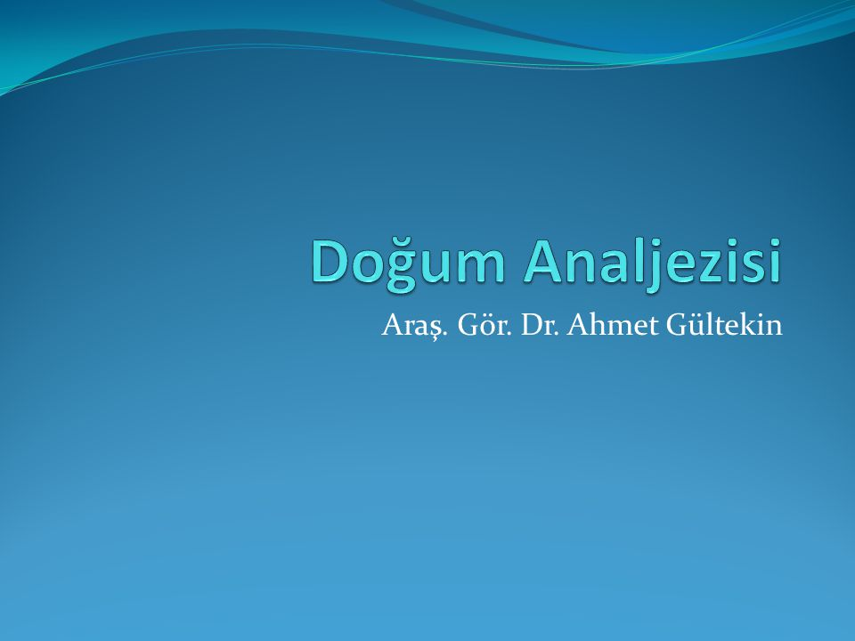 Araş. Gör. Dr. Ahmet Gültekin