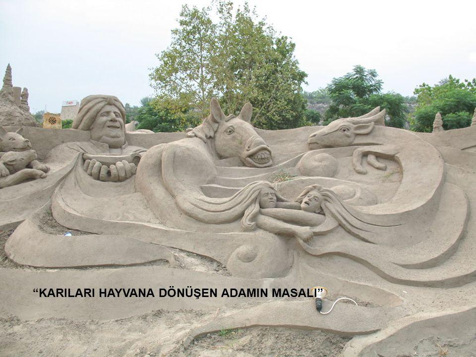 KARILARI HAYVANA DÖNÜŞEN ADAMIN MASALI