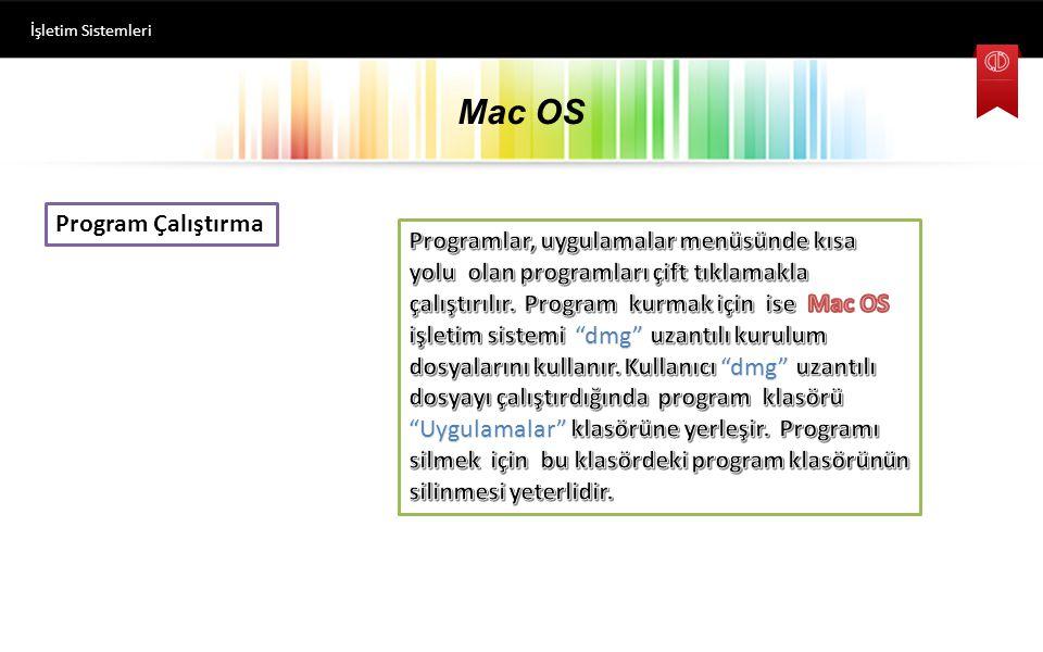 Mac OS Program Çalıştırma