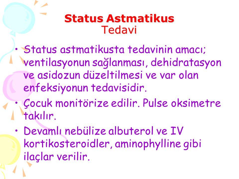 Status Astmatikus Tedavi
