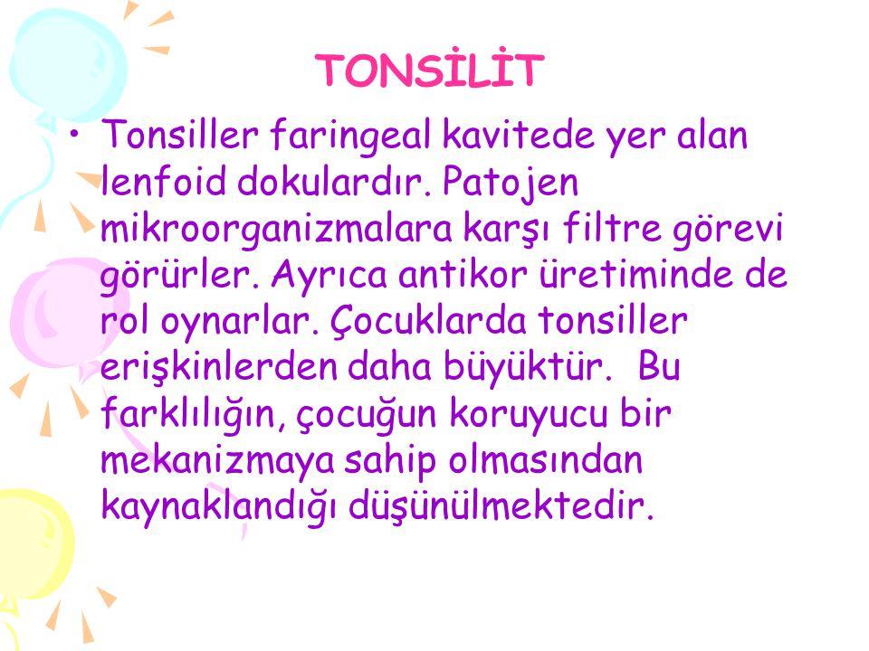 TONSİLİT